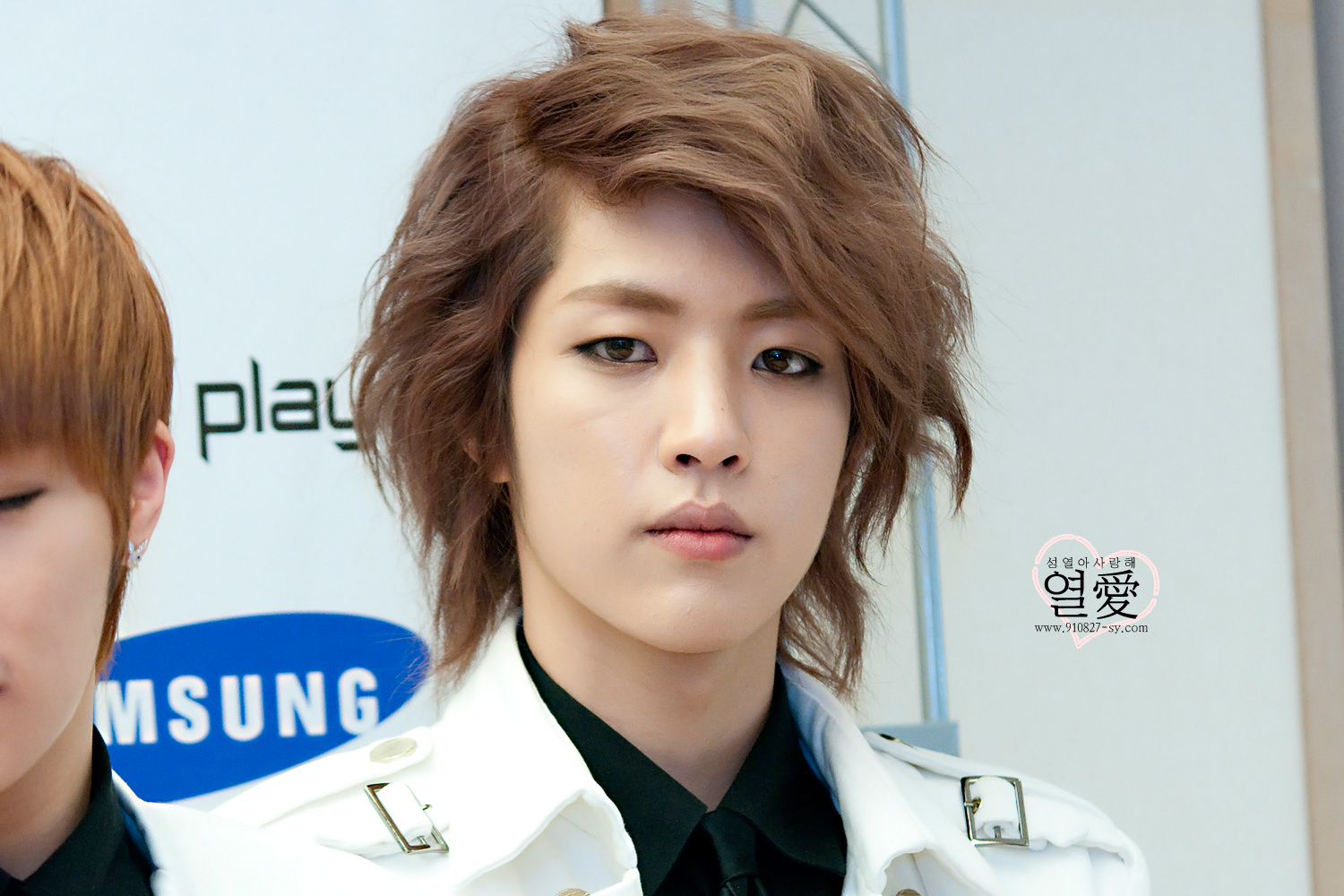 120413 Sungyeol @ INFINITESamsung Galaxy Player launch party [9pic