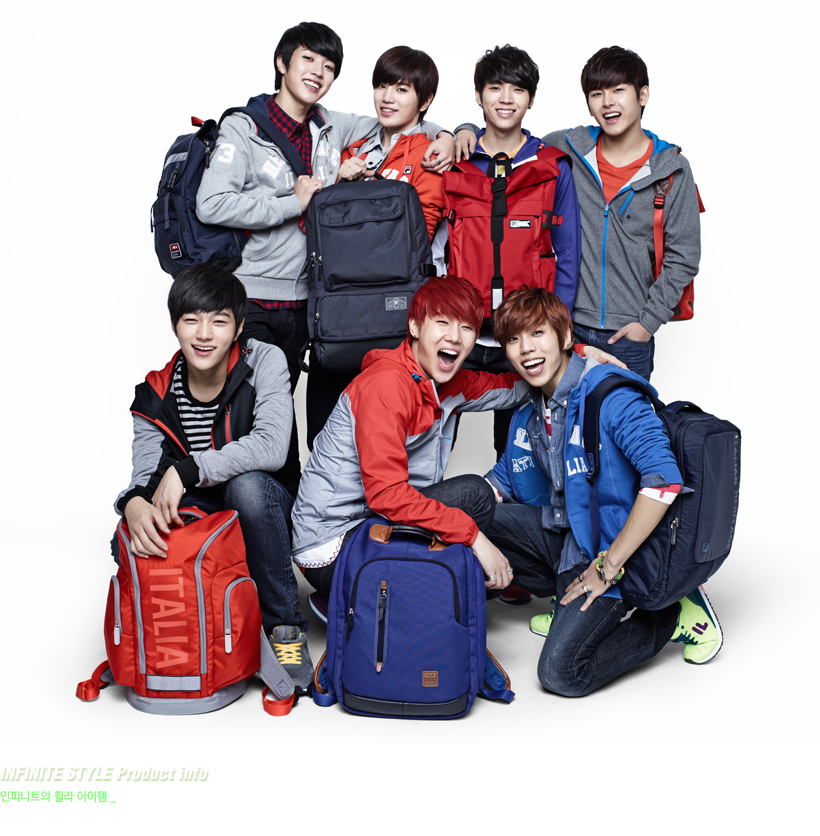Infinite 2013 [pics] infinite in 2013 fila